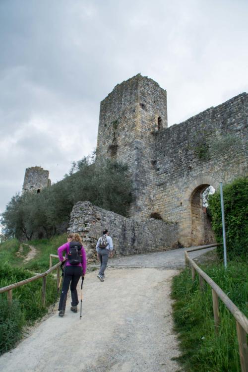 Conquering Monteriggioni - Conquistando Monteriggioni